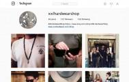 XXL Hardwear's Instagram account preview